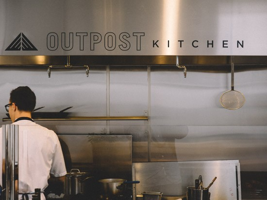 Forget That Outpost Kitchen S Menu Features Buzzwords Such As Paleo And Organic Instead Focus On What This Open E In An Section Of