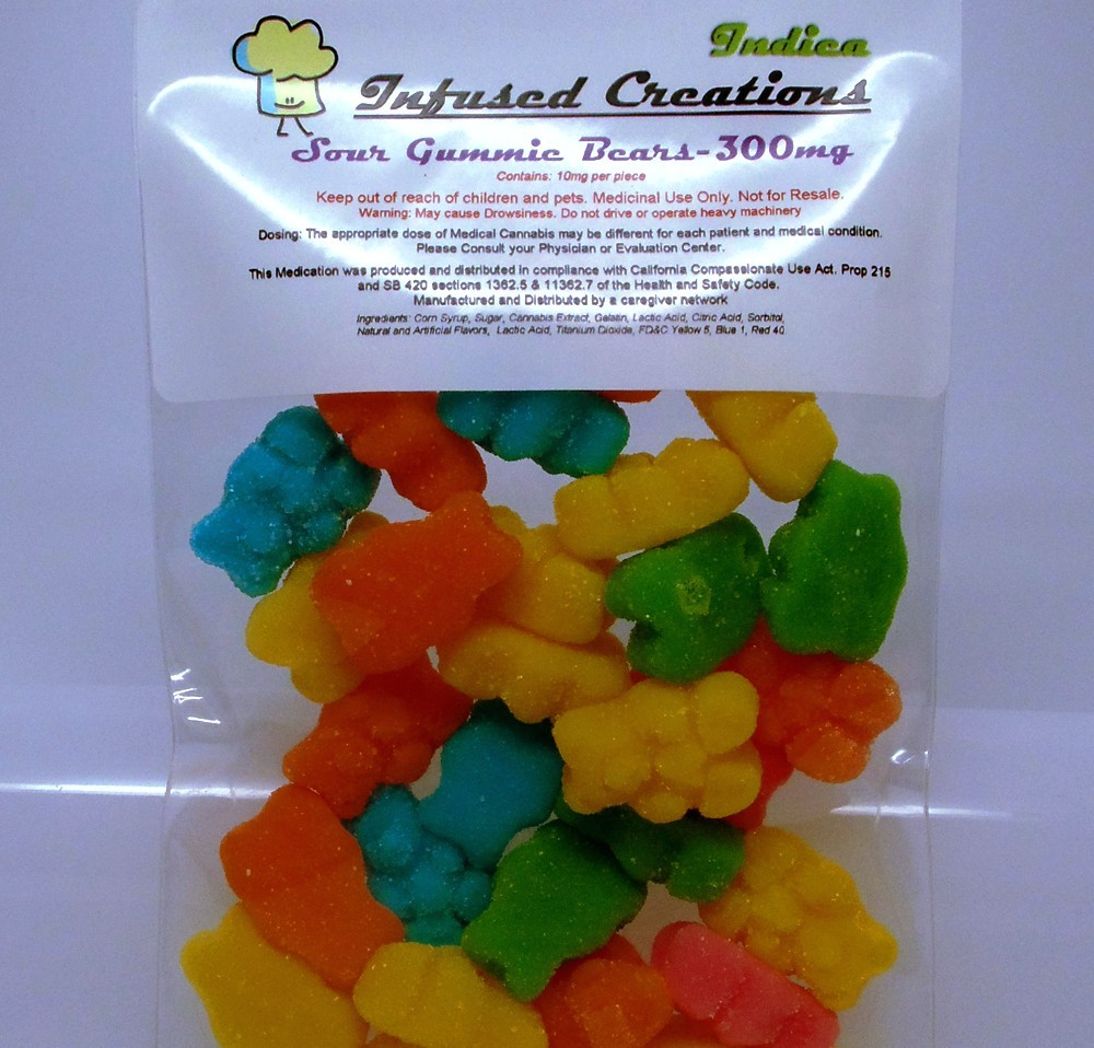 Infused Creations Indica Sour Gummie Bears: Our Toke of the Week