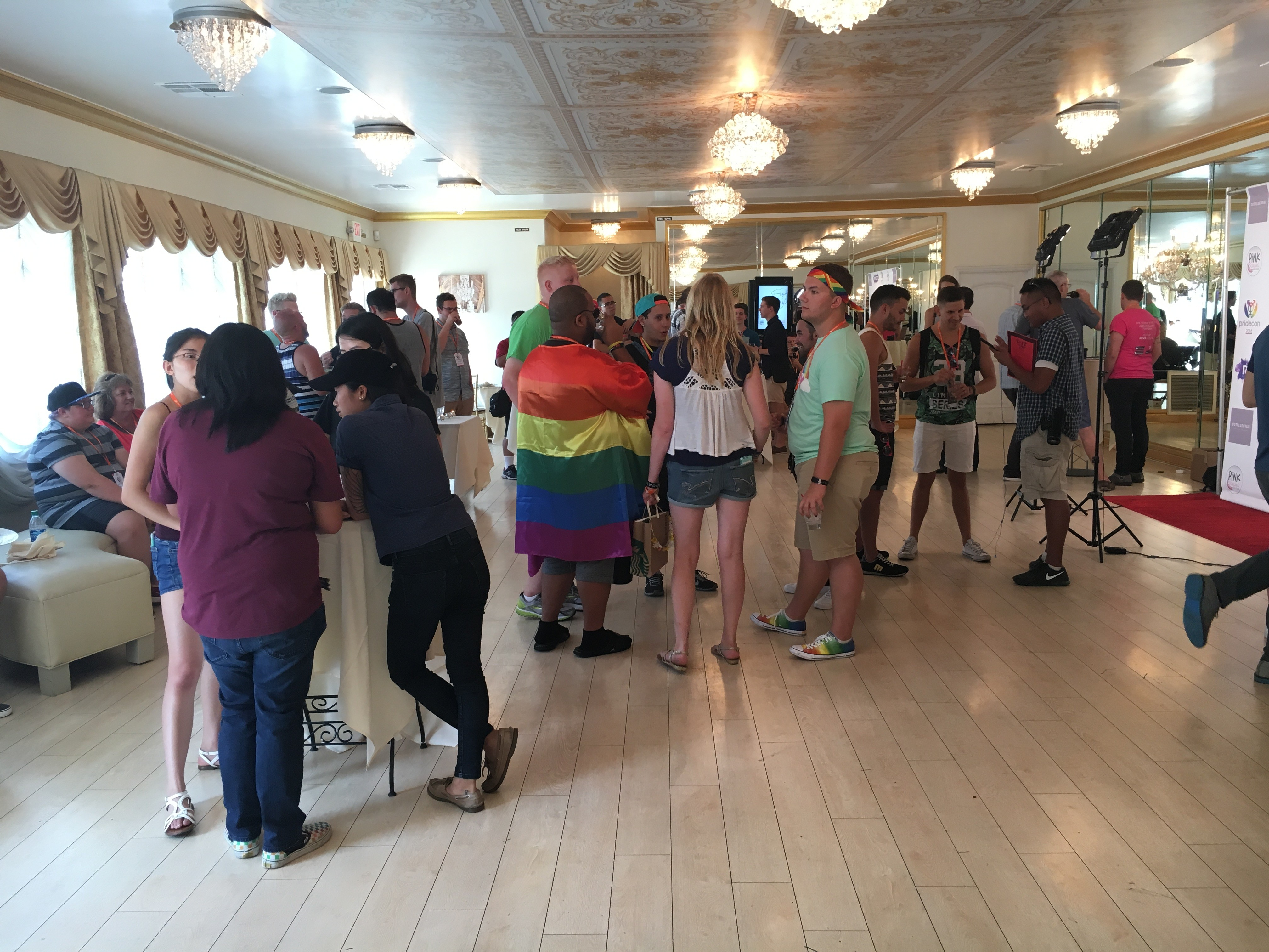 How A Pride Convention Turned Into An Intimate Meet And Greet Oc