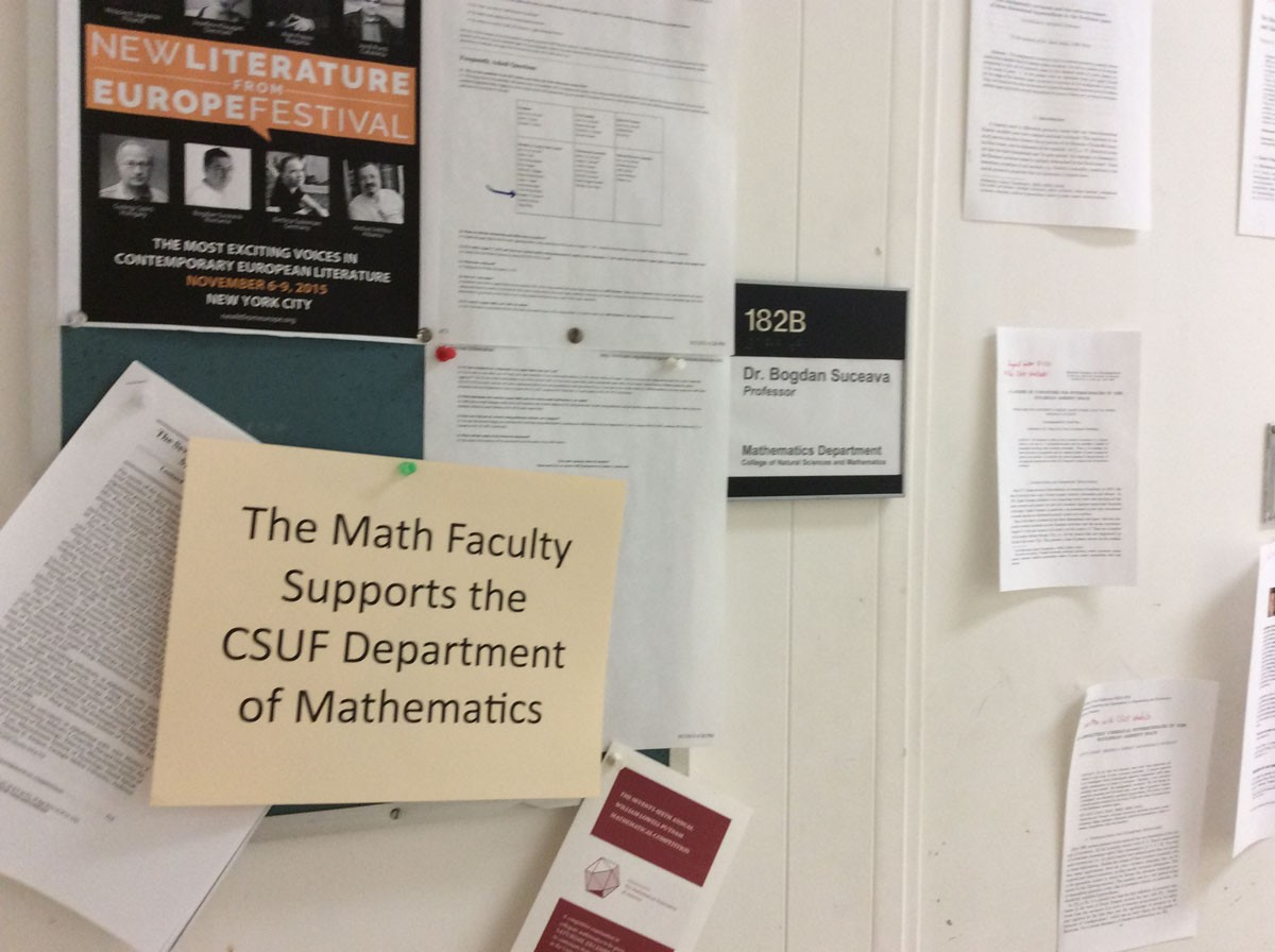 Cal State Fullerton's Math Department Has More Problems Than