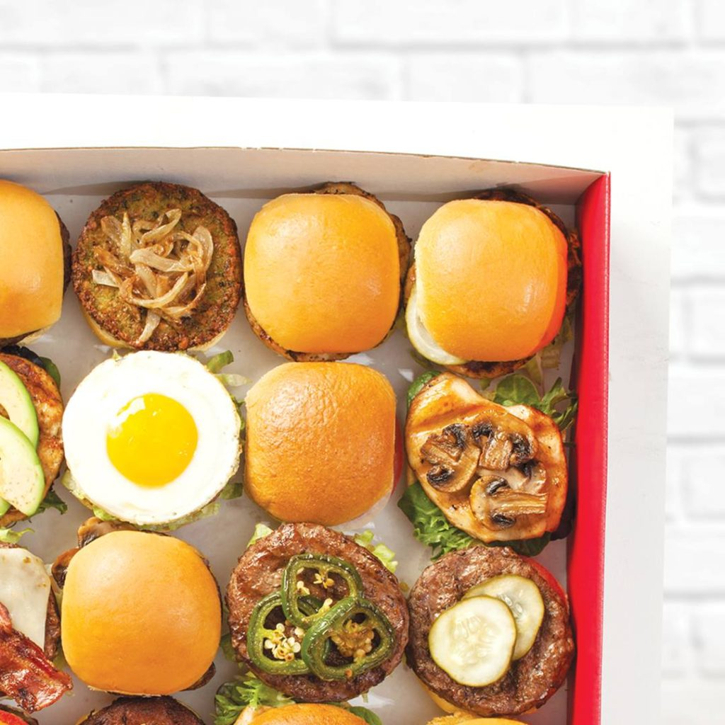 Burger box from Burgerim