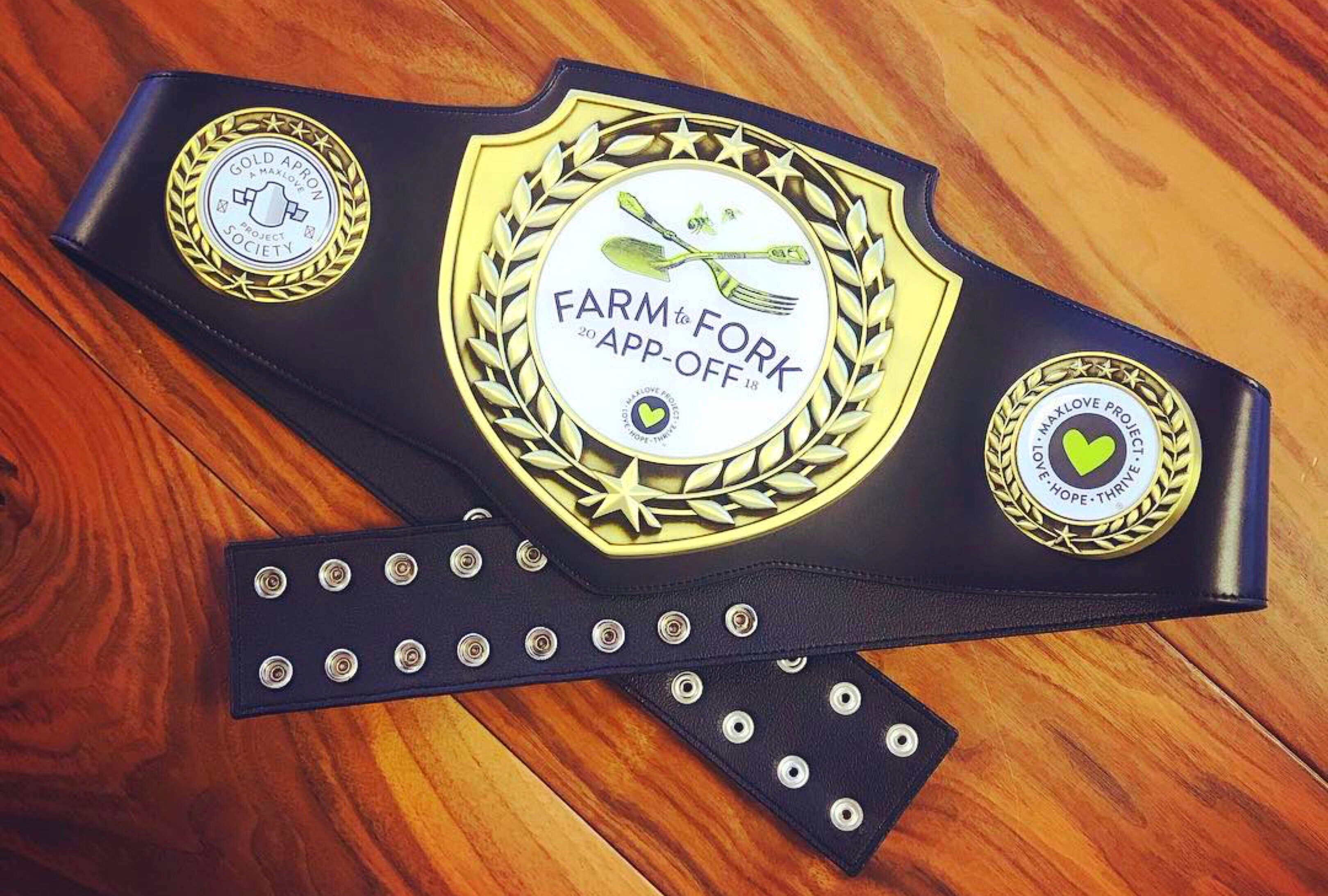 App Off winning belt