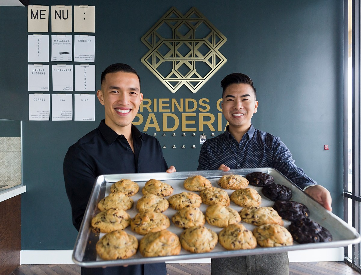 Davian Tran and Nathan Vuong of Paderia Bakehouse