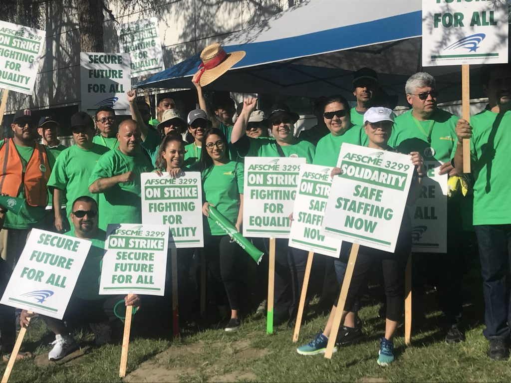 Another Statewide Strike Coming to UCI Medical Center Amid