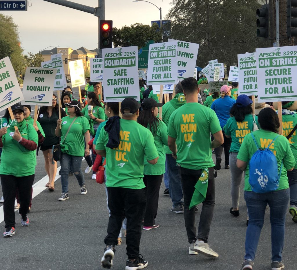 UCI Medical Center Workers Strike Over Outsourcing–Again!