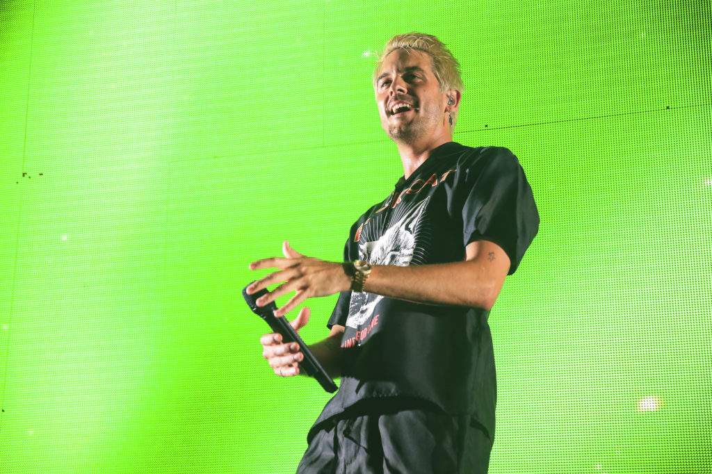 a7b4e836baf3 G-Eazy performs to a capacity crowd during the Endless Summer Tour at Five  Points Amphitheater in Irvine
