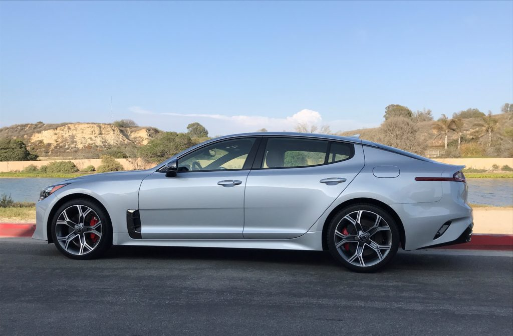 2018 Kia Stinger With Twin Turbo V6 Harks Back To Those Muscle Car
