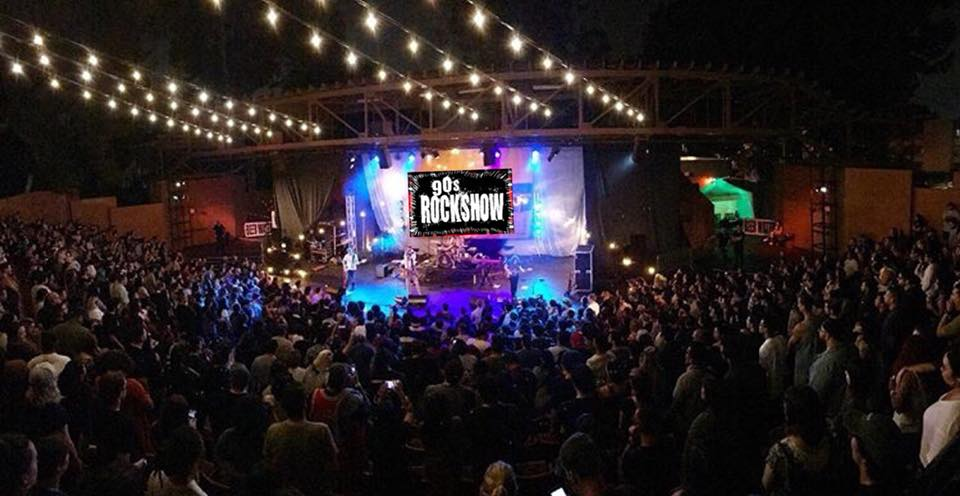 90's Halloween Bash with 90's Rockshow Concert at Garden Amp – All Ages