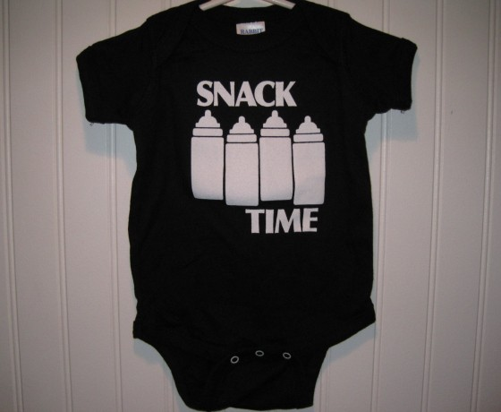 6c05ccf0e It's never too early to expose your child to quality music and band merch. Baby  Onesie by PinkHammersBaby.