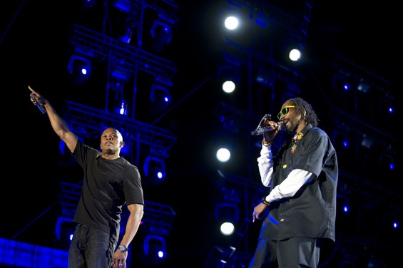 Snoop Dogg, Dr  Dre and Tupac's Hologram at Coachella, April