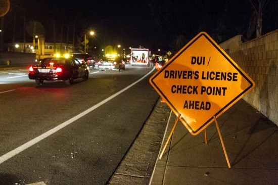 DUI Checkpoints: Laguna Hills Tonight, Irvine Saturday Night