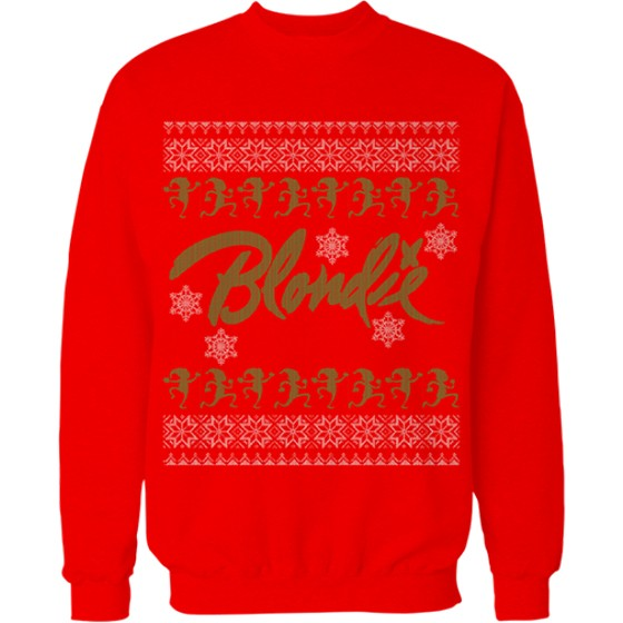 we got a chuckle over the description for blondies call me christmas sweater show everyone at that holiday party that you are still a punk - Descendents Christmas Sweater