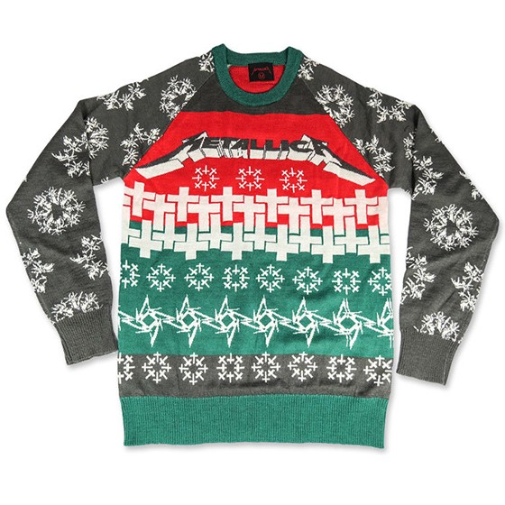 85 is a bargain for this master of puppets holiday sweater from metallica dont you think - Descendents Christmas Sweater