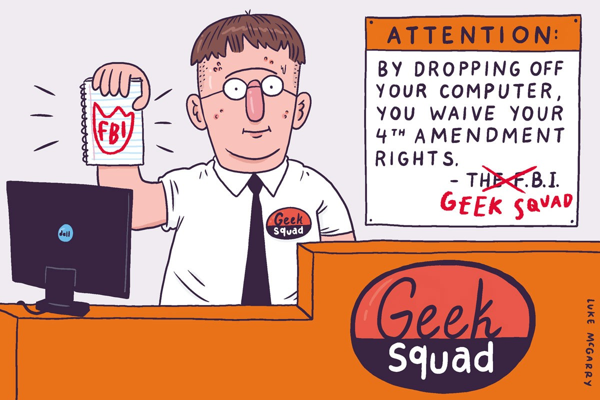 Best Buy Geek Squad Informant Use Has FBI on Defense in