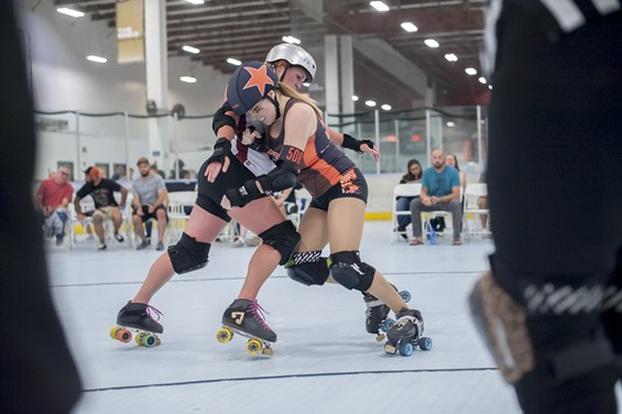 Jailhouse Block: OC Roller Derby vs. Wine Town Rollers Double Header