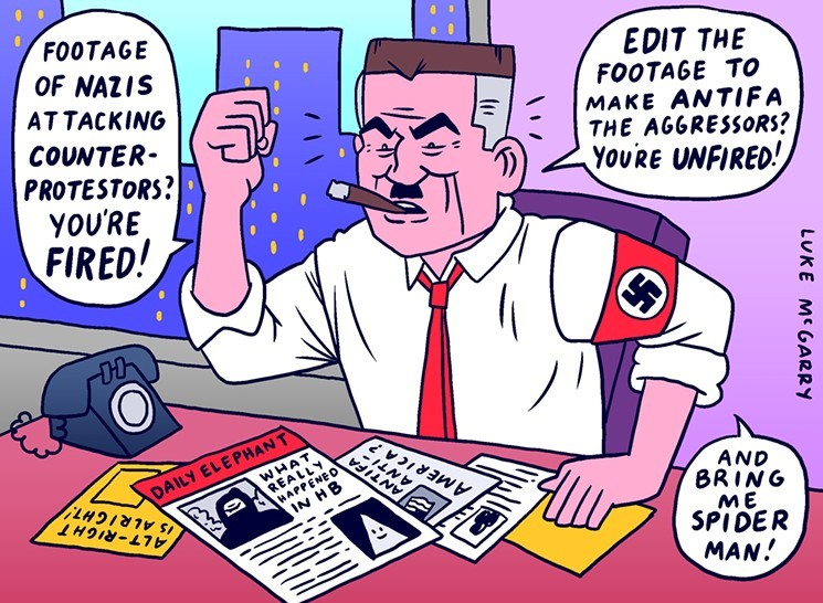How Lake Forest?s Alt-Right Media Collective The Red Elephants Twists Truth to Make Fake News   OC Weekly
