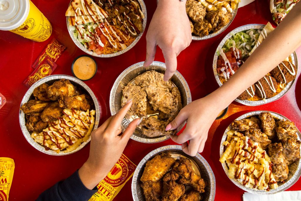 Wings from The Halal Guys