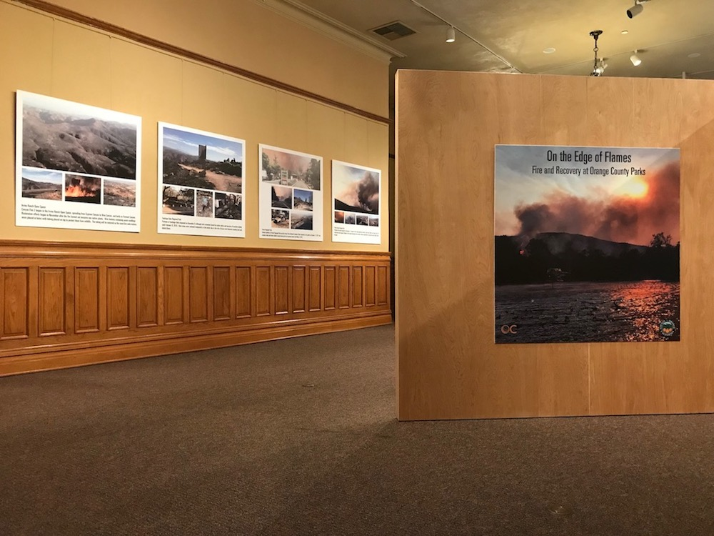 "OC Parks Presents ""On the Edge of Flames"" Exhibit at Old Orange County Courthouse"