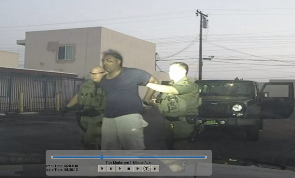 Did Deputy Falsify Incident Report to Justify Beating Man Unconscious?