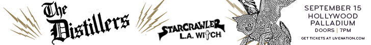 Distillers & Starcrawler at the Hollywood Palladium