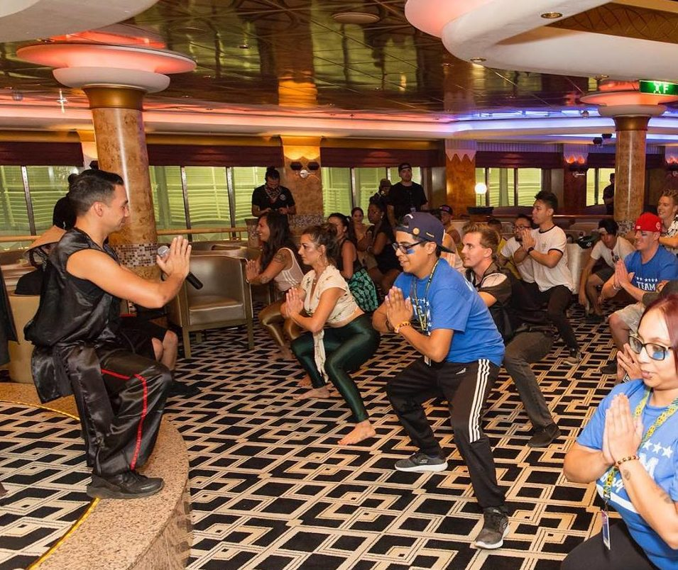 Laidback Luke's Kung Fu Class Turned Groove Cruise Into His Floating Dojo