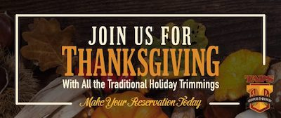 Celebrate Thanksgiving at TAPS Fish House & Brewery
