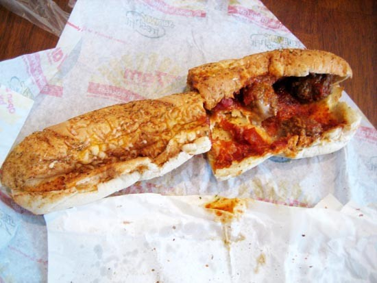 Eat Here Not There Meatball Subs Oc Weekly