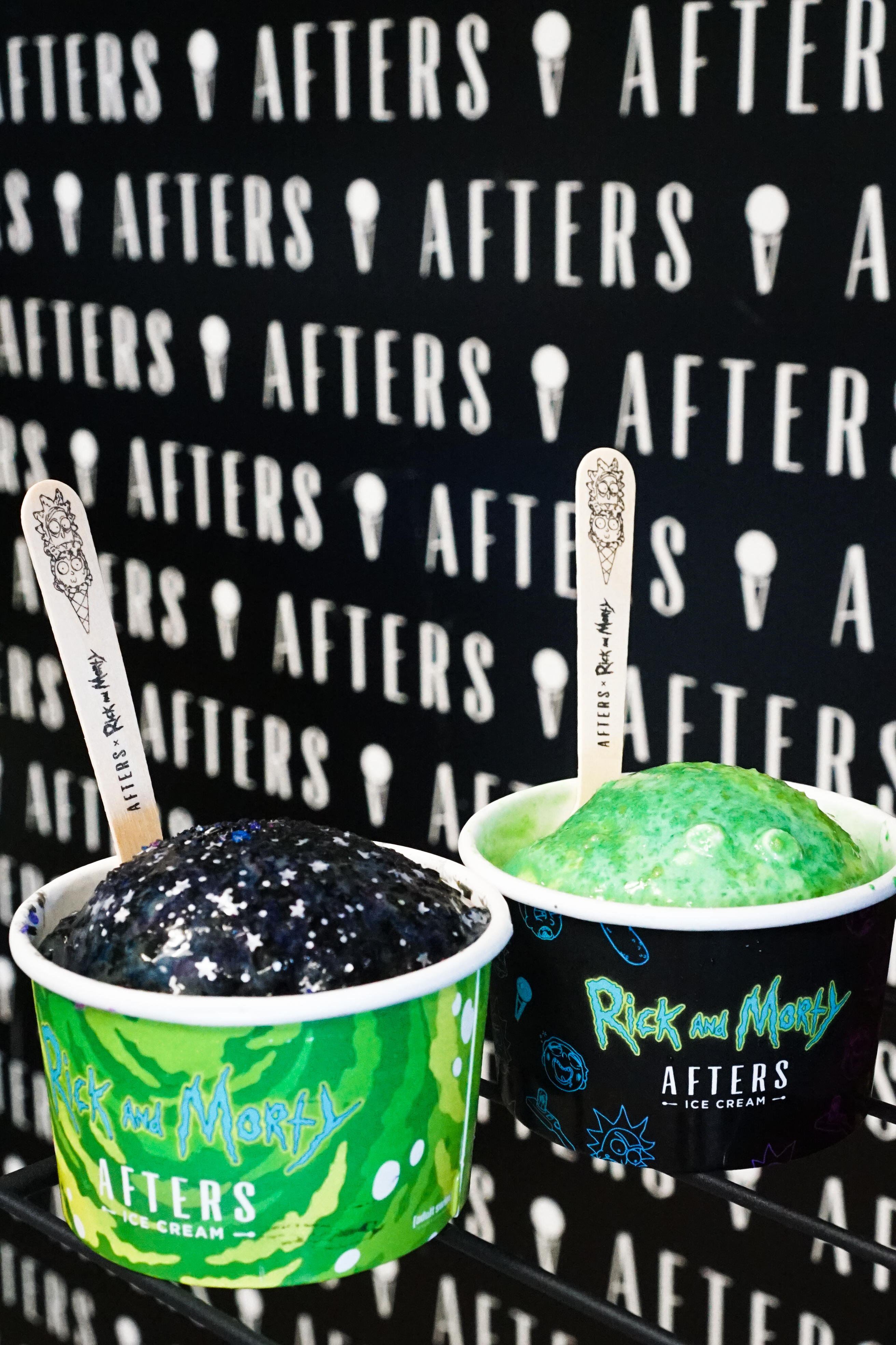 Afters is Now Serving Highly Delicious Rick and Morty Ice
