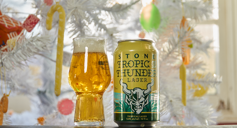 Stone's Tropic of Thunder, Our Beer of the Week!