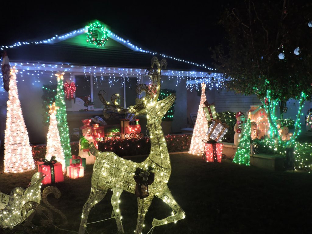 Crushing the Creche Scene: Christmas in Brea Is a Festival of Lights