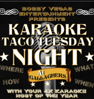 Karaoke Tuesday's at Gallagher's Pub