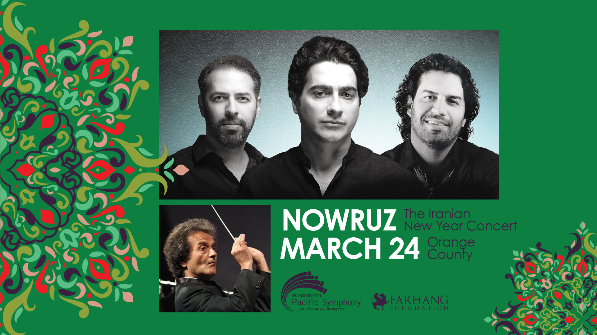 Nowruz Concert with the Pacific Symphony