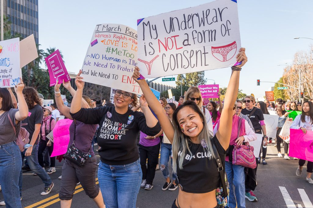 OC Women's March 2019 in Downtown Santa Ana