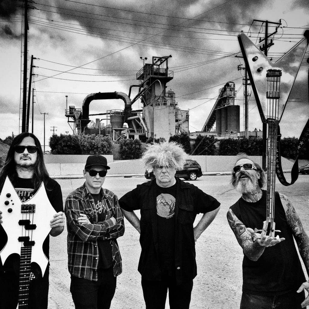 Melvins Keep Their Basses Covered With Butthole Surfer Jeff Pinkus