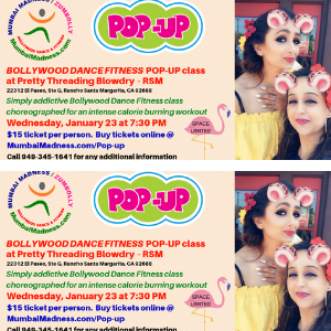 Bollywood Dance Fitness Pop-up class