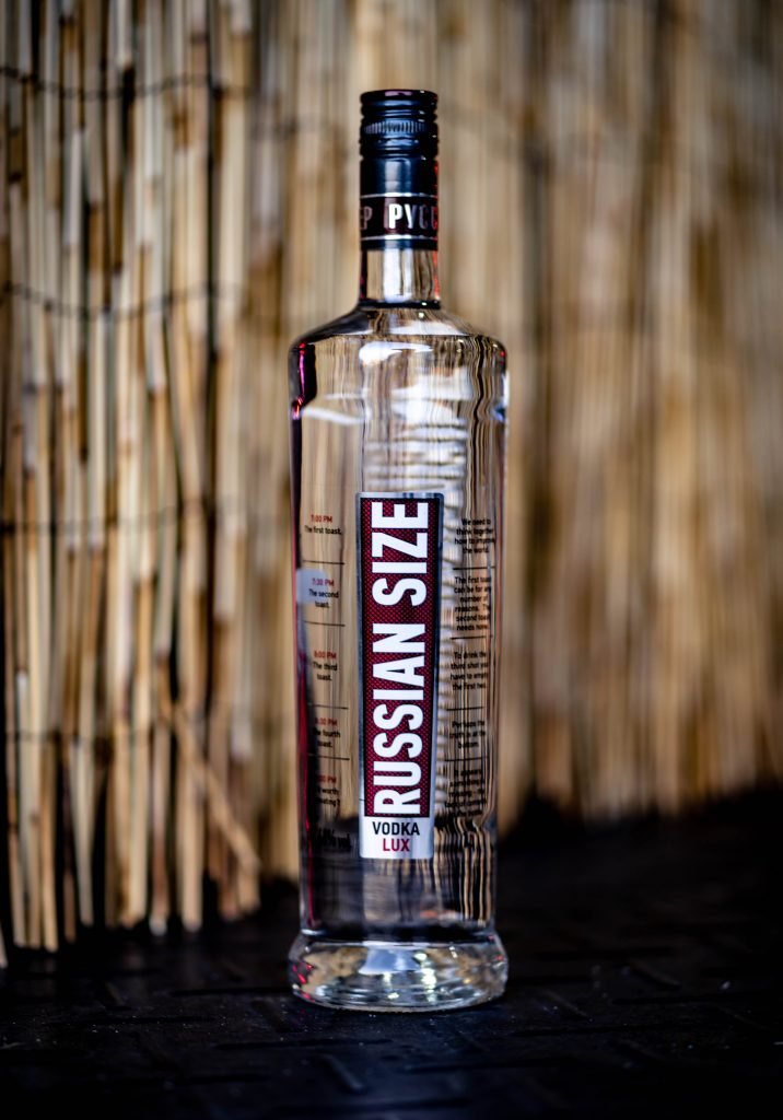 Orange County is home to Russian Size Vodka