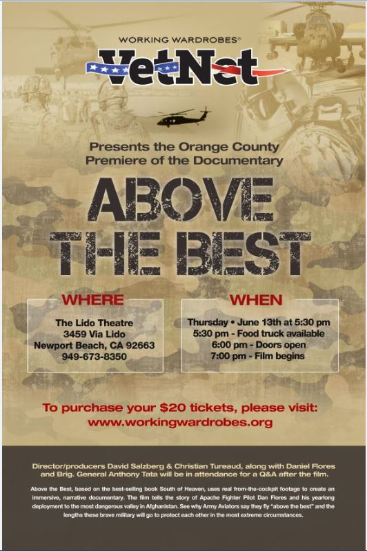 """OC Premiere of Documentary Film """"Above The Best"""" 