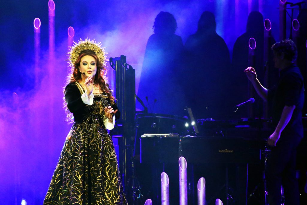 Sarah Brightman Holds Court at Honda Center