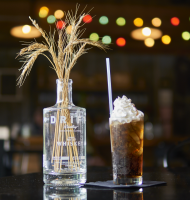 Drift Distillery's Boozy Rootbeer Float, Our Drink of the Week!