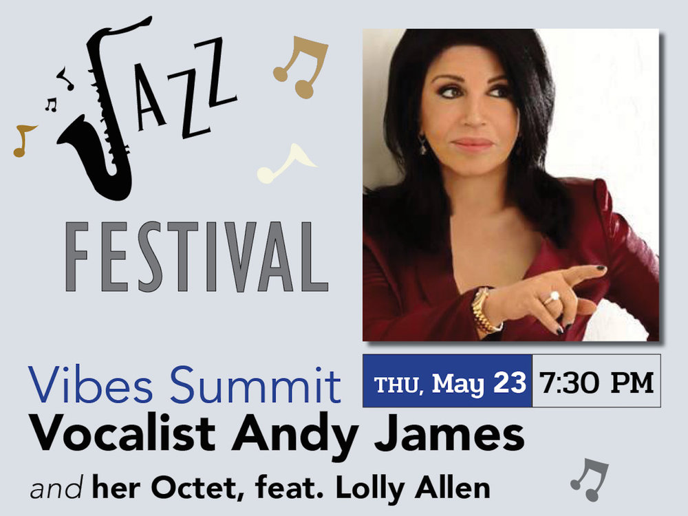 Jazz Fest – Vocalist Andy James and her Octet