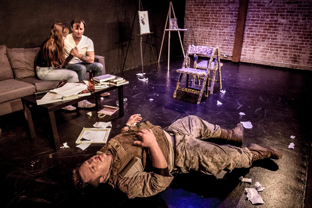 Veterans/Actors Explore the Horrors of War and Power of Theater With <em>Twist, Pull, Smoke, Run-Motherfucker-Run!!</em>