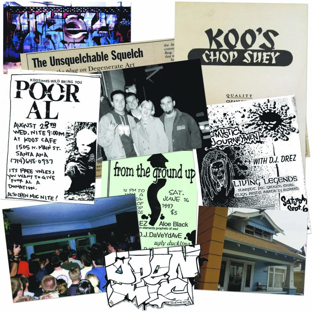 Anarchy In the OC: Remembering Koo's Café