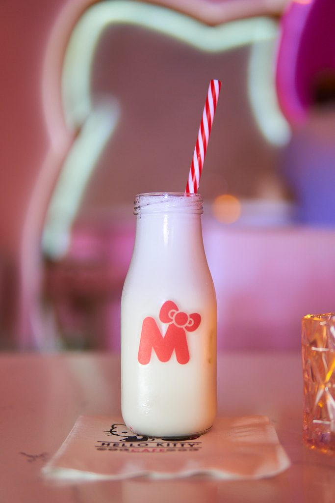 Hello Kitty's Bow Room Spring Cocktails, Our Drink of the Week!