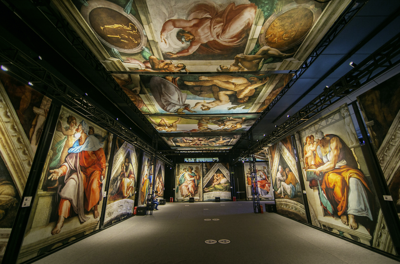 Michelangelo's Sistine Chapel Exhibition