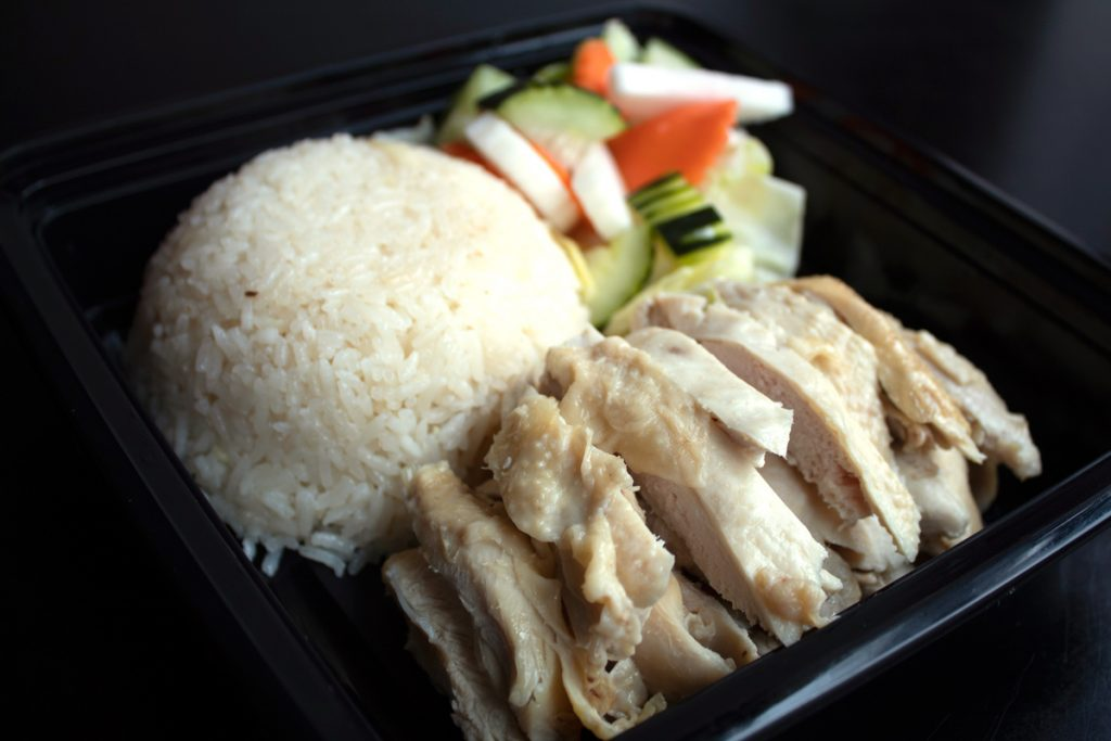 The Chicken Rice in Santa Ana Specializes in Hainan Chicken Rice