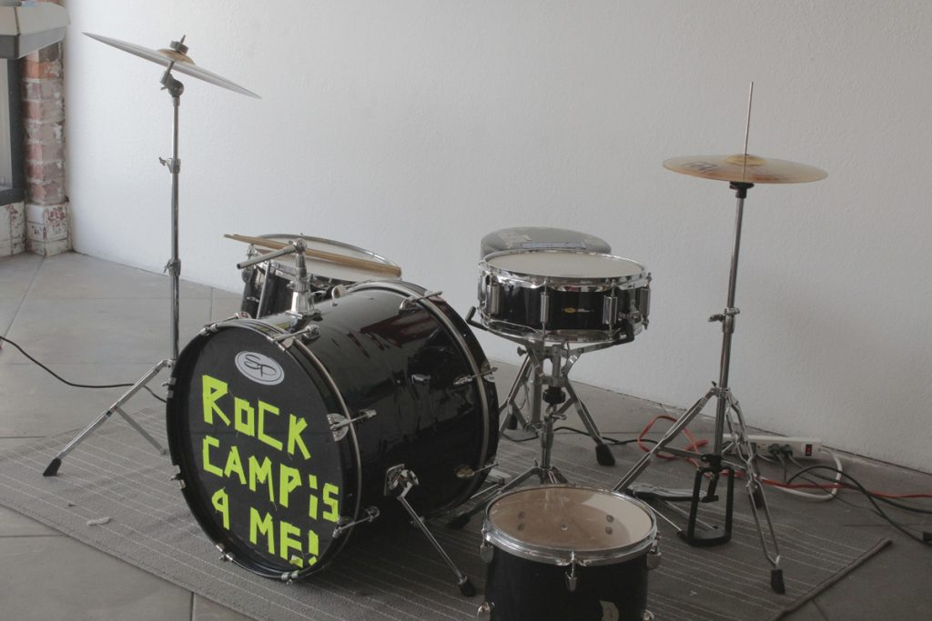Rock N' Roll Camp For Girls Closing/Graduation Ceremony in Santa Ana