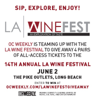 Win Tickets to LA Wine Festival!