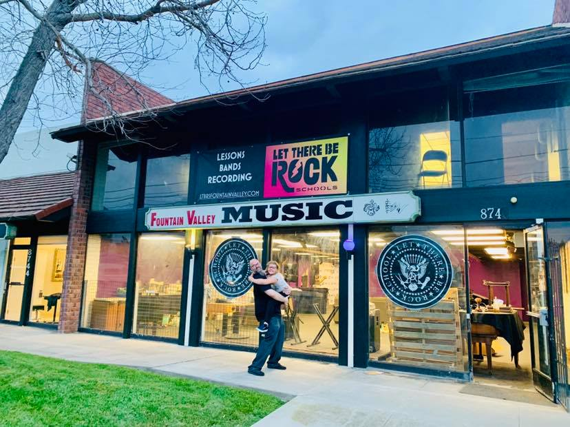 Let There Be Rock Opens Its First West Coast Music School