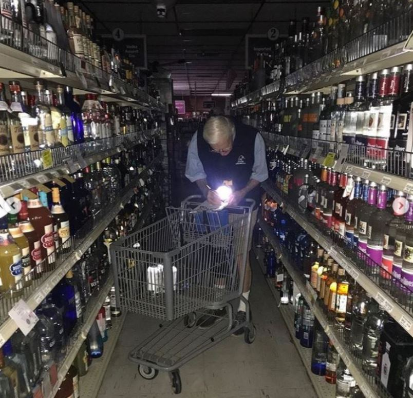 What is Hi-Time Wine Cellars Creator Fritz Hanson Doing in the Dark?