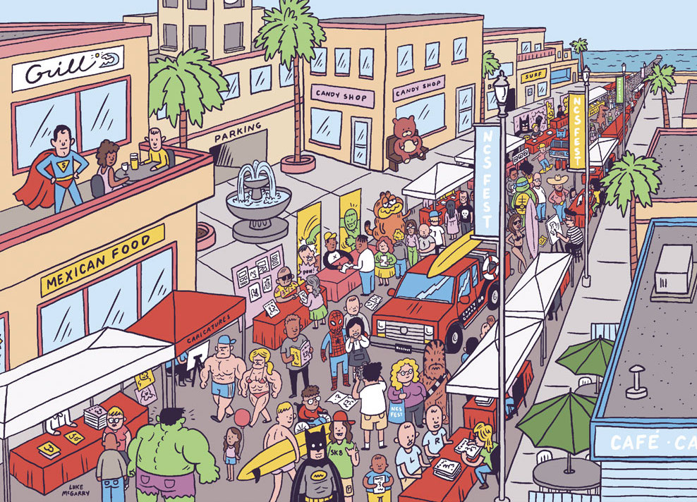 NCSFest, America's Biggest Comics Festival, Takes Over Huntington Beach This Week!